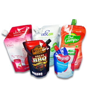 Sauce Ketchup Packaging Pouch