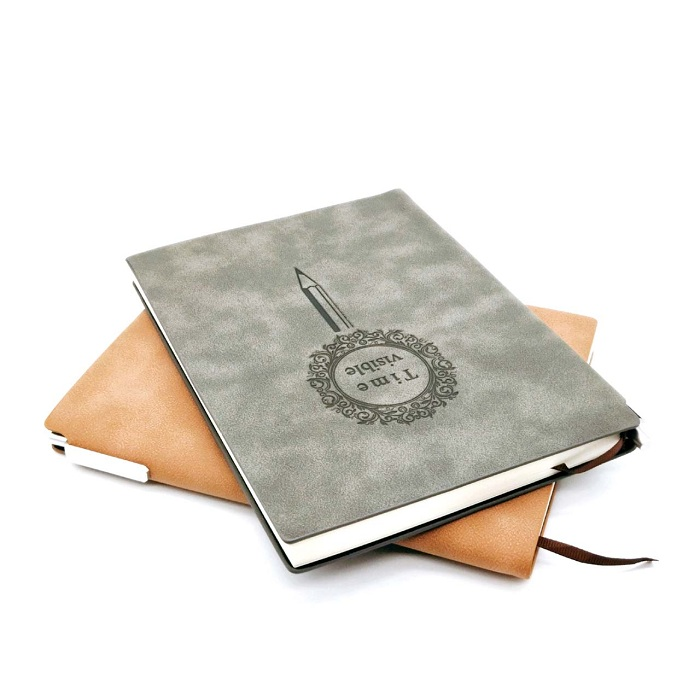 Custom 2019 PU Embossed Leather Journal Notebook
