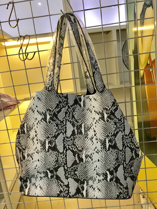 Ladies Snake Hobo Bag